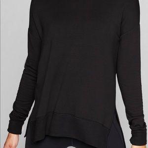Athleta black CYA sweatshirt size medium